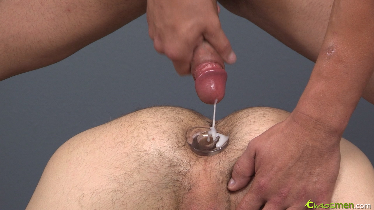 Man butt plug during sex video